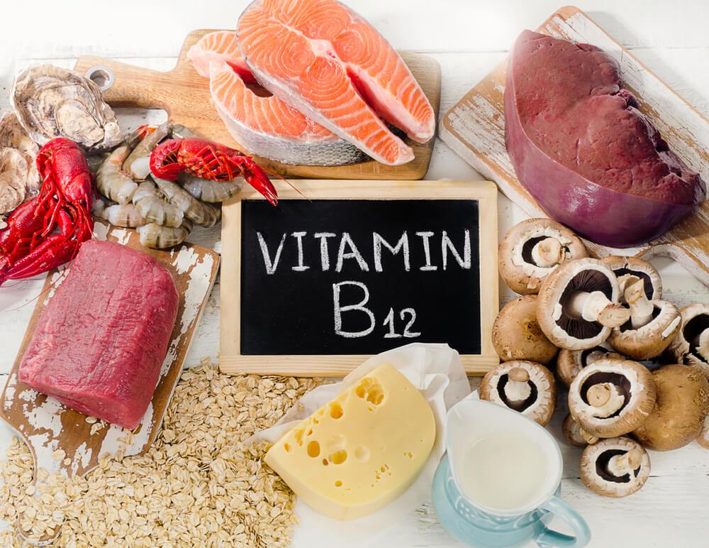 b12 vitamin látás