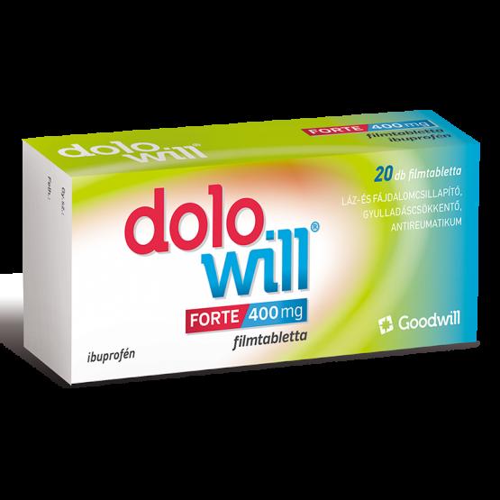 Dolowill Forte 400 mg filmtabletta