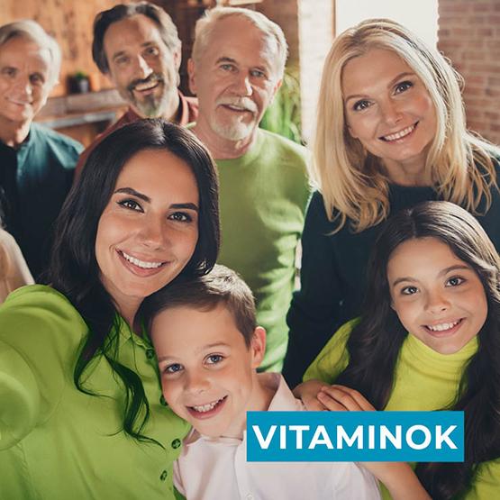 Étrend-kiegészítők, vitaminok