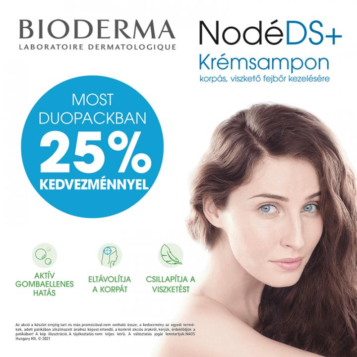 Bioderma Nodé DS+ krémsampon duopack