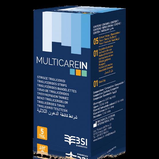 Multicare In triglicerid szint tesztcsík