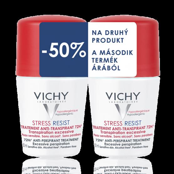 Vichy Stress Resist izzadságszabályozó golyós dezodor DUOPACK
