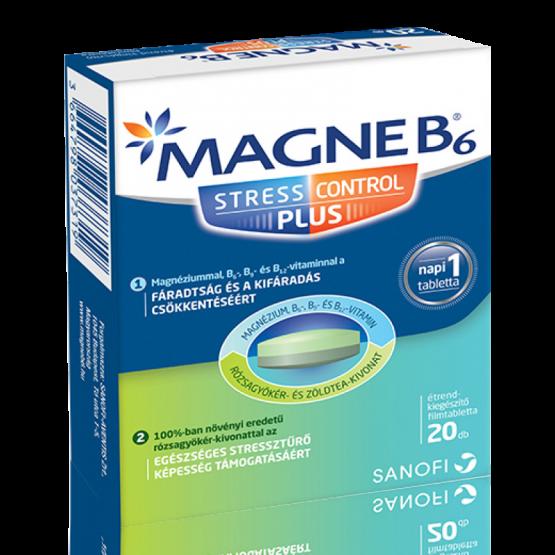 Magne B6 Stress Control Plus étrend-kiegészítő filmtabletta