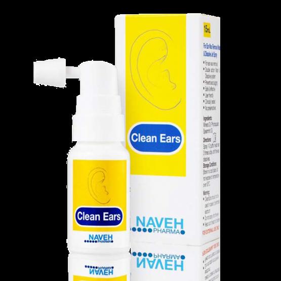 Clean Ears fülzsíroldó spray