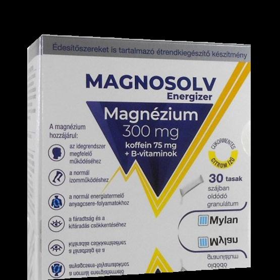 Magnosolv Energizer granulátum 30x