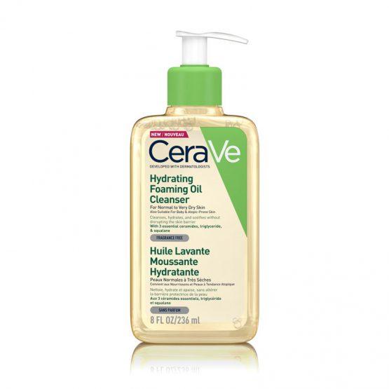 cerave hidratáló olajos tisztító 236 ml