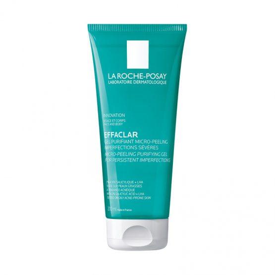 La Roche-Posay Effaclar mikro-hámlasztó tisztító gél arcra és testre 200ml