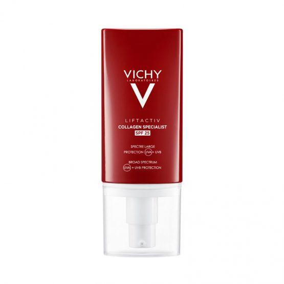 Vichy Liftactiv Collagen Specialist komplex öregedésgátló arckrém SPF25 50 ml