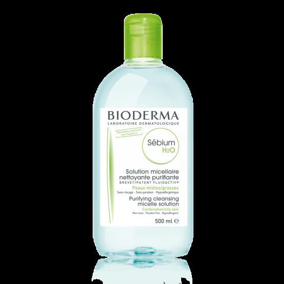 bioderma sébium h2o micellás víz 500ml